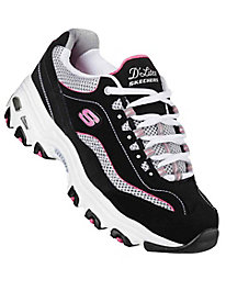 Skechers Sport® D'Lites Lace-Up Sneakers
