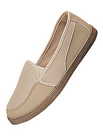 American Sweetheart® Mesh & Suede Loafers