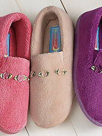 MoonBeams� Microterry Slippers