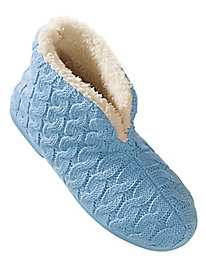 Moonbeams� Sweater-Knit Slippers