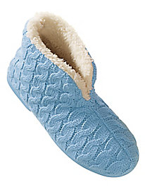 Moonbeams® Sweater-Knit Slippers