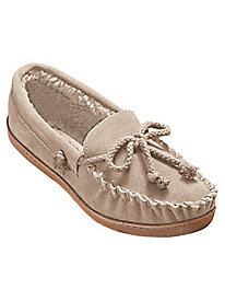 MoonBeams® Genuine Suede Leather Moccasin