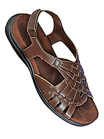 Mushrooms� Basketweave Sandals