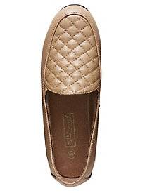Mushrooms® Quilted Leather Loafers