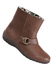 Rain Dates� Fleece-Lined Ankle Boots