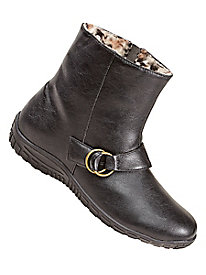 Rain Dates® Fleece-Lined Ankle Boots