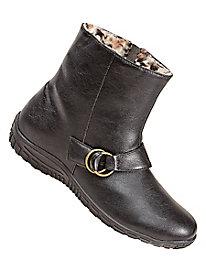 Rain Dates® Fleece-Lined Ankle Boots