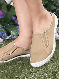 American Sweetheart� Cotton Canvas Slip-Ons