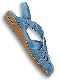 Dr. Scholl's� Woven Leather Sandals