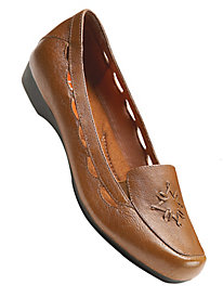 Lucky Star Leather Loafers