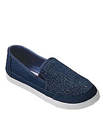 Perforated Canvas Slip-ons