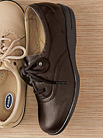 Dr. Scholl's® Brown Leather Oxfords