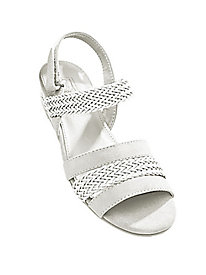 Comfort Well® by Beacon® Woven Slingback Sandals