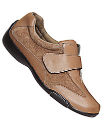 Dr. Scholl's� One-Strap Leather Casuals