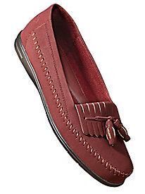 Dr. Scholl's Look-of-Suede Tassel Loafers