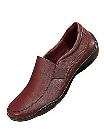 Dr. Scholl's� Side Stretch Leather Loafers