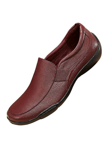 dr scholl s 174 side stretch leather loafers haband