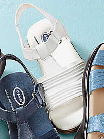 Dr. Scholl's® Leather T-Straps