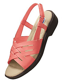 Dr. Scholl's® Woven Leather Sandals