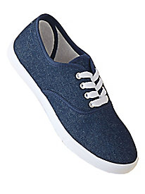 American Sweetheart® Canvas Lace-Up Sneakers