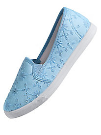 American Sweetheart� Eyelet Canvas Casuals