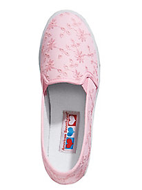 AmericanSweetheart Twin Gore Eyelet Canvas Casuals
