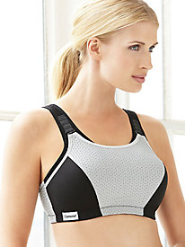 Glamorise; Double Layer Custom Control Sport Bra 100174