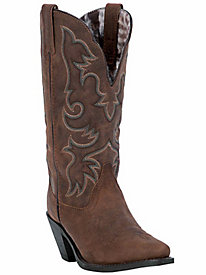 Laredo Women's Access Goat Leather Cowboy Boot