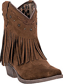 Dingo Women's Cassidy All Microfiber Cowboy Boot
