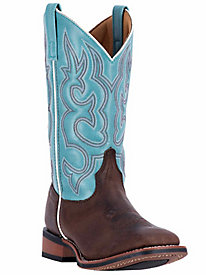 Laredo Women's Mesquite Leather Foot Cowboy Boot