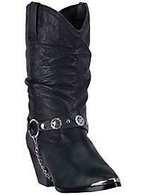 Dingo Women's Olivia All Leather Cowboy Boot