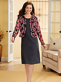 La Fleur 2-Pc. Dress Set