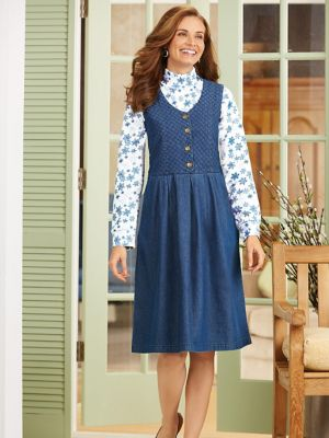 Plus size jumpers dresses