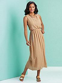 Crocheted Sleeveless Dress