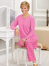 Fleece & Quiet Pajama Set