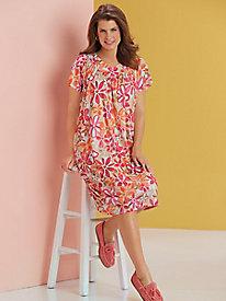 Flutter Sleeve Lounge Dress