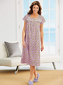 MoonBeams� Lace-accented Nightgown