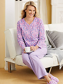 Miss Matched 2-Pc. Pajama Set