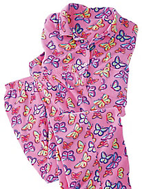 MoonBeams� Print Perfect Fleece Pajamas