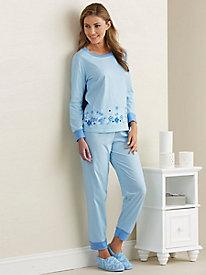 Floral Border Pajamas