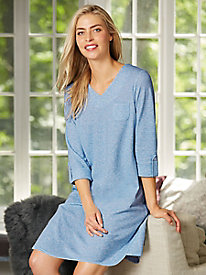 Heathered Knit Nightshirt