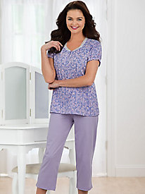Moonbeam� Sweet Spring 2-Pc. Capri Pajamas