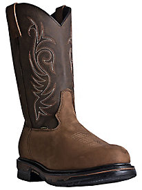 Laredo Men's Hammer Leather Cowboy Boot
