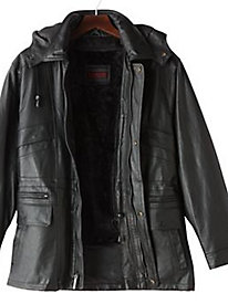 Excelled Leather Parka