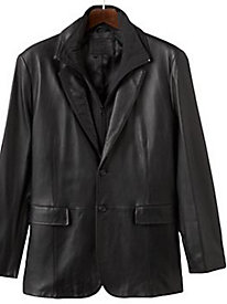 Excelled Leather Blazer
