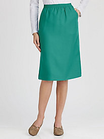 Salon Studio Gabardine Skirt