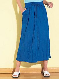 BocaBay? Crinkle-Cloth Skirt