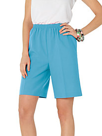 Sara Morgan� Poplin Shorts