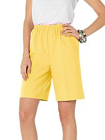 Sara Morgan™ Poplin Shorts