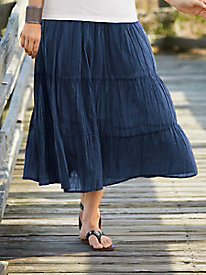 Featherlight Tiered Skirt